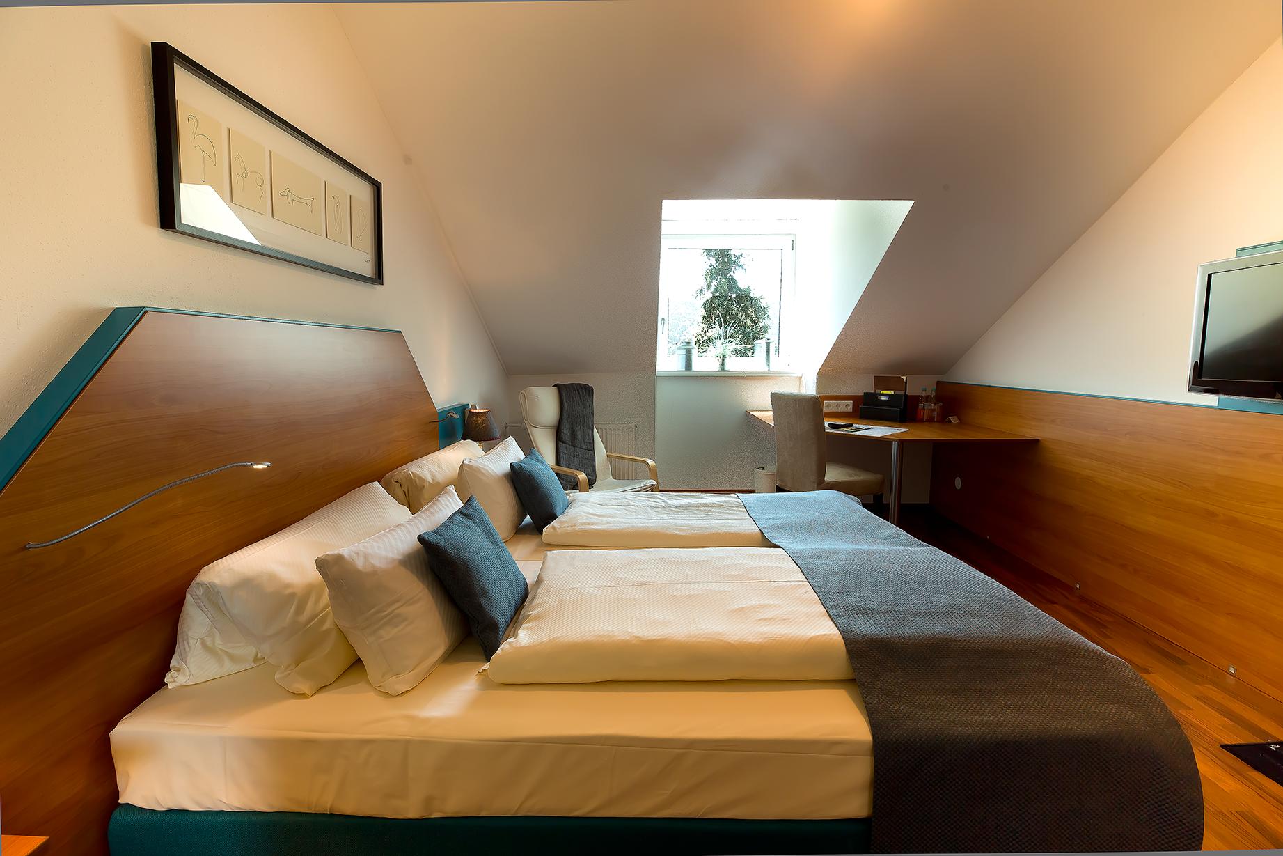 Zimmer im Landhotel Pröll